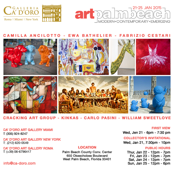 West Palm Beach Convention Center Events: Ca' D'Oro Art Gallery Miami