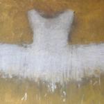 Ewa Bathelier, Gold and white tutu,2016