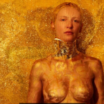 Vicky Steckel, Gold Digger Body Imprint, 2016