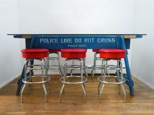 Carlo Sampietro, Police Barricade Blue